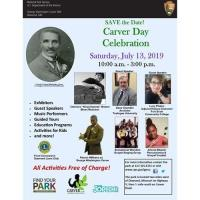 Carver Day Celebration - Schedule of Events for July 13th