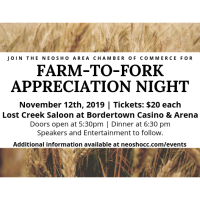 Neosho Area Chamber of Commerce Announces Farm-To-Fork Appreciation Night