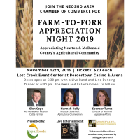 Ticket Deadline Approaching for Farm-to-Fork Night