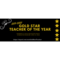 Nominations Open for 2020 Gold STAR Teacher of the Year