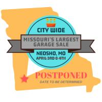 Neosho City-Wide Garage Sale (Missouri's Largest)  Postponed