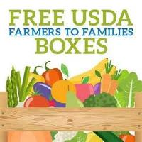 USDA Farmers to Families Food Box Giveaway