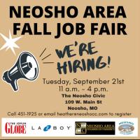 Neosho Area Job Fair Fall 2021