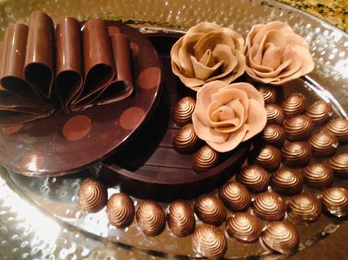 Chocolate Box with Truffles
