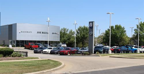 Joe Rizza Maserati Alfa Romeo