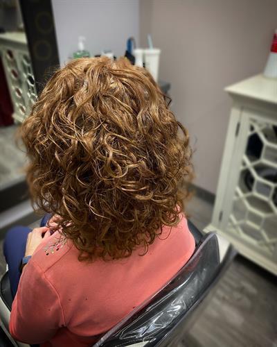 Curly Hair Cut at Salon 224 Curls Studio