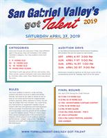 San Gabriel Valley's Got Talent Competition