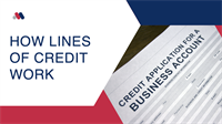 How Business Lines of Credit Work