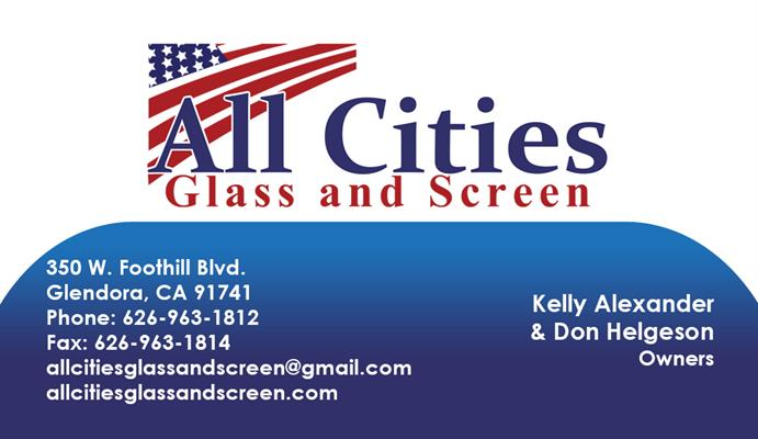 All Cities Glass and Screen
