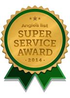 WE HAVE BEEN AN A+ SERVICE PROVIDER ON ANGIE'S LIST SINCE 2012!