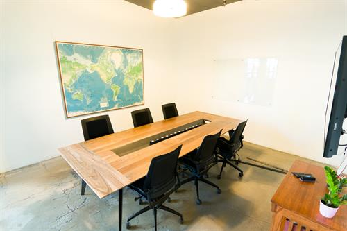 Concrete Conference Room