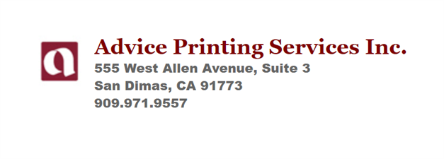 Advice Printing Service Inc