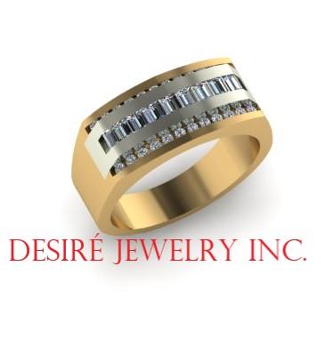 Custom diamond band!