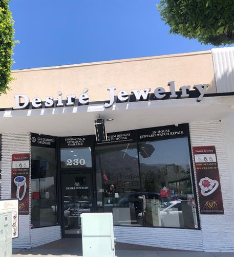 Desire Jewelry Storefront