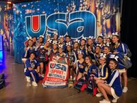Charter Oak High School Competitive Cheer Team named USA National Champions!