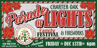 Date change for the 2019 Charter Oak Holiday Parade of Lights!