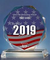 Glen Oak has been awarded Best of Covina in the category of Public School for 2019!