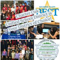 Charter Oak Unified School District is Your District of Choice!