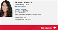 Bank of America - L.A. and Ventura County NMLS 328806