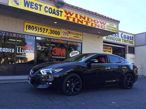 West Coast Window Tint Automotive Work