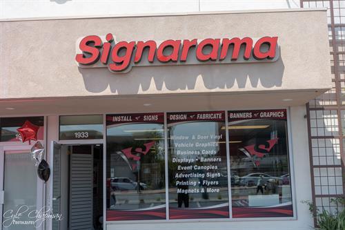 Signarama Simi Valley- Storefront Signs & Window Graphics