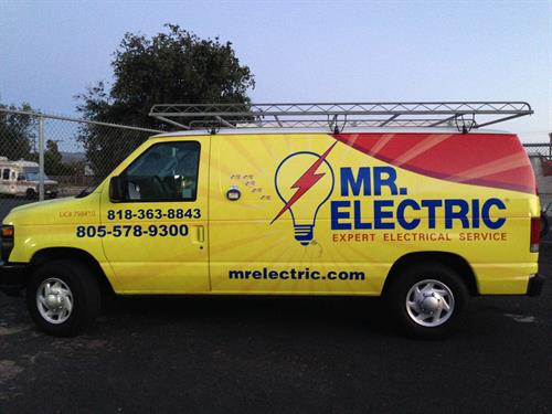 Full wrap for Mr. Electric