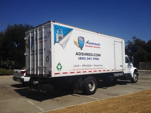 Partial Wrap Graphics for Assured Shredding