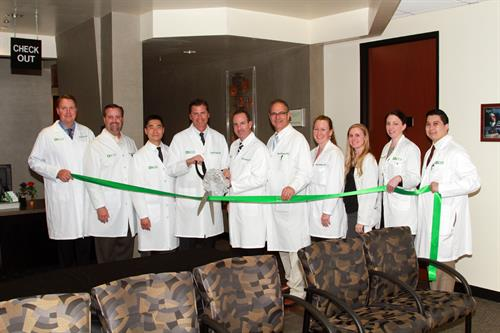 SCOI Physicians at Chamber of Commerce Ribbon Cutting
