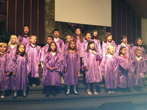 Children's Choir performs