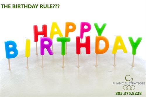 There is a Birthday Rule in California. People that have a Medicare Supplement policy can change to a different policy or provider without medical underwriting during the 30 day period following their birthday. Plans must be the same or less benefit. Want more information? Give us a call.