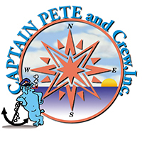 Captain Pete Logo, for Caps, T Shirts and Boat