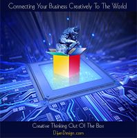 """Dijan Design, LLC """"Connecting Your Business Creatively To The World"""", self promotion"""