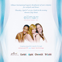 Pelleve® Invitation for Ellman® International