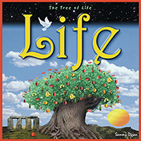 CD Cover for a band called Life