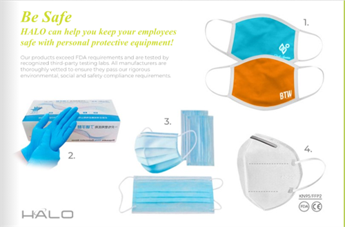 PPE Masks, a wide variety solutions