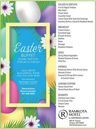 Easter Buffet at the Ramkota
