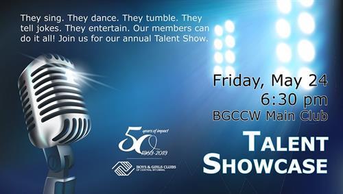 BGCCW Talent Showcase