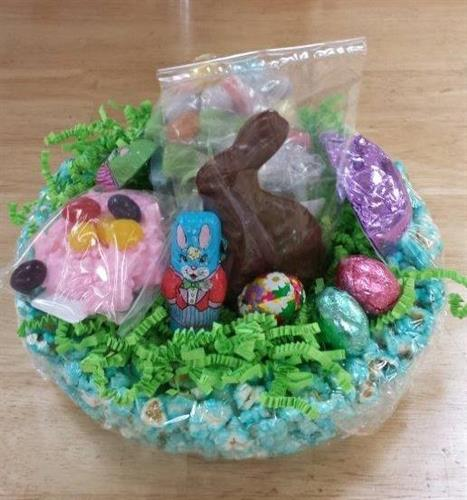 Easter Bunny at Donells Candies