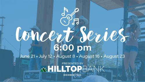 Summer Concert Series at David Street Station Presented by Hilltop Bank