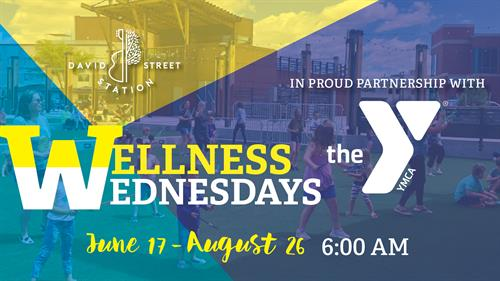Wellness Wednesday at David Street Station
