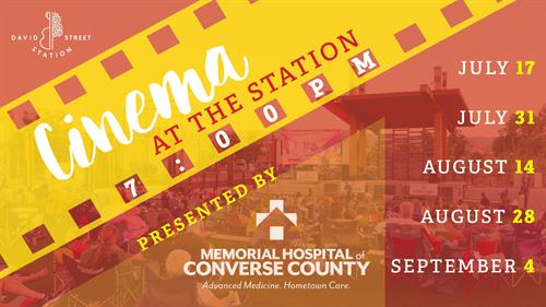 Cinema at the Station – Presented by Memorial Hospital of Converse County