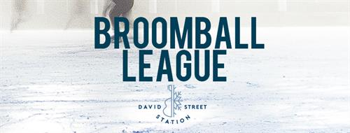 Broomball League at David Street Station