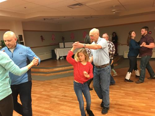 Community Dance at the Eagles