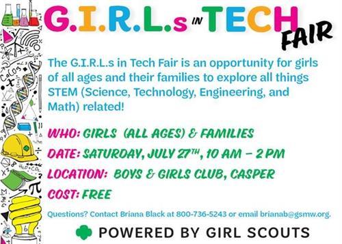 G.I.R.L.s In Tech Fair
