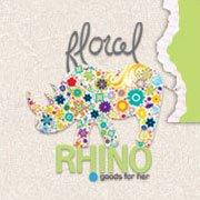 Floral Rhino - Casper