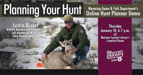 Planning Your Hunt: WGFD's Hunt Planner
