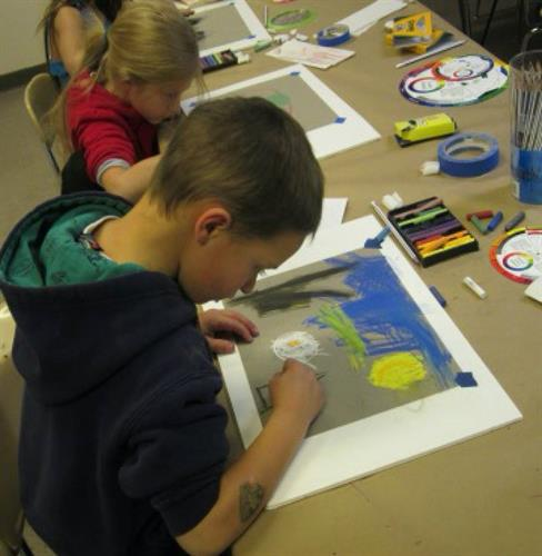 Home School Art: 4-8th grade