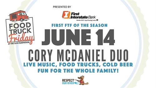 Food Truck Friday with the Cory McDaniel Duo