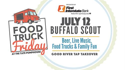 Food Truck Friday with Buffalo Scout