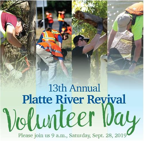 2019 Platte River Revival Volunteer Day